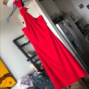 NWT Stunning & Sexy Red Halter Dress 💋👠 size S